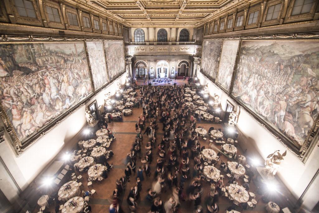 Salone dei 500 - Blu Ball - Scots in Florence